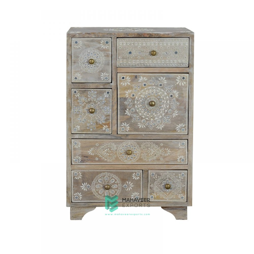 Oriental Painted Chest of Drawers