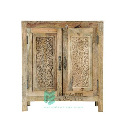 Carved 2 Door Sideboard