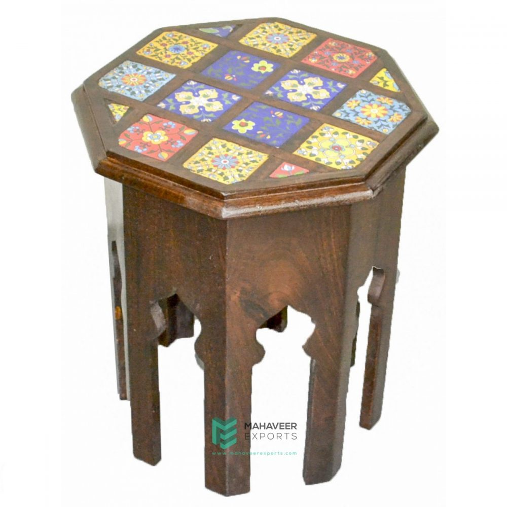 Tile Tea Side Table