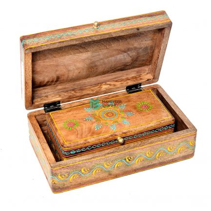 Fine Emboss Painted Box Set of 2