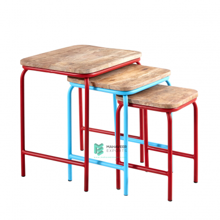 Industrial Nested Tables Set