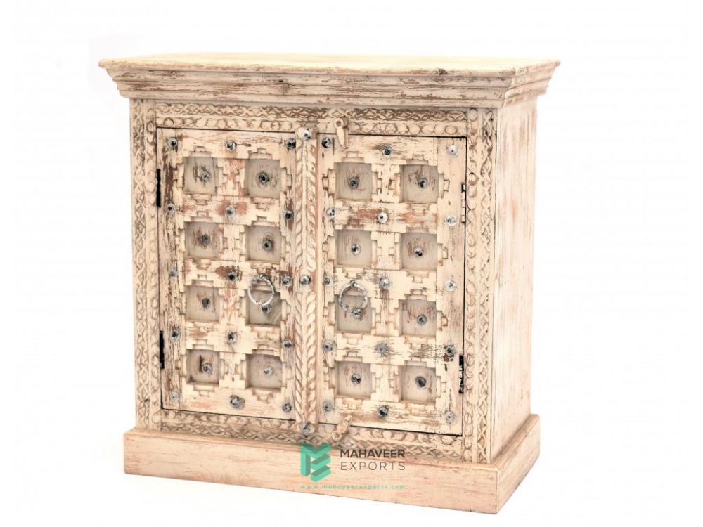 Bakhra Carved Sideboard